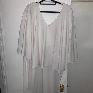 Ashley Stewart Plus size cape style dress
